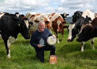 Mossfield Farmhouse Cheese wins Waitrose Award at Nantwich 2015