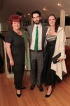 Pam Black, Lughan Carr and Sorcha Moynihan from Ballymaloe Cookery School