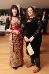 Rachel Sheridan of Sheridan's Cheesemongers and judge Jess Murphy, Kai Galway